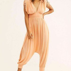 FREE PEOPLE 'WAITING FOR THE SUN TRIANGLE JUMPSUIT